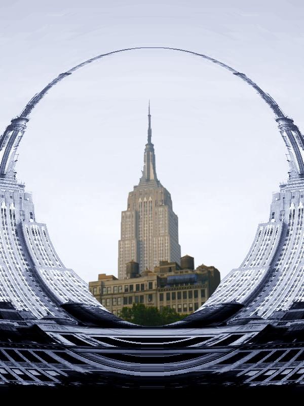New York Graphique Monument Les Monuments De New York Empire State